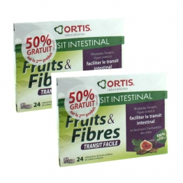 ORTIS FRUITS & FIBRES REGULAR 2X24 CUBES