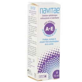 NAVITAE SOLUTION OPHTALMIQUE VITAMINES A+E 15ML
