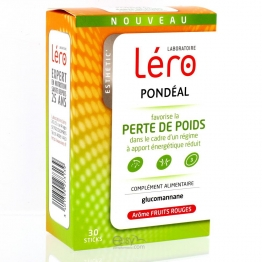 LERO PONDEAL FRUITS ROUGES 30 STICKS