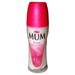 MUM DEODORANT SANS ALCOOL ROLL-ON 24H ROSE 50ML