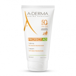 A-DERMA SOLAIRE PROTECT AD CREME TRES HAUTE PROTECTION SPF50+ 150ML