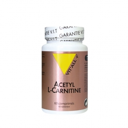 VIT'ALL+ ACETYL L-CARNITINE 250MG 60 GELULES VEGETALES