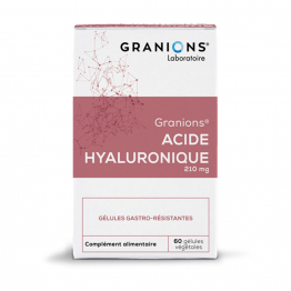 ACIDE HYALURONIQUE 210MG 60 GELULES GRANIONS