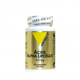 VIT'ALL+ ACIDE ALPHA LIPOIQUE 200MG 30 COMPRIMES