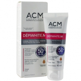 ACM DEPIWHITE.M CREME PROTECTRICE TEINTEE PROTECTION SPF50+ 40ML