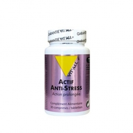 ACTIF ANTI-STRESS 30 COMPRIMES VIT'ALL+