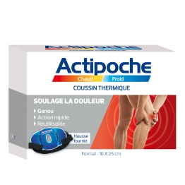 ACTIPOCHE CHAUD FROID COUSSIN THERMIQUE GENOU 16X25CM