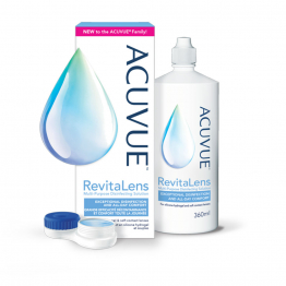 Acuvue Revitalens Solution decontaminante multifonction 360ml Gifrer