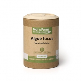 ALGUE FUCUS MODERATEUR D'APPETIT 60 GELULES NAT&FORM