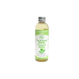 ALPHANOVA BEBE HUILE DE MASSAGE 100% NATURELLE 100ML