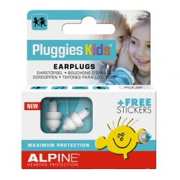 ALPINE PROTECTION AUDITIVE PLUGGIES KIDS AVEC STICKERS