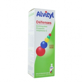 ALVITYL DEFENSES SIROP SANS SUCRES 240ML