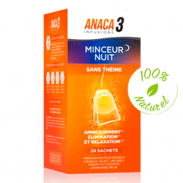ANACA3 INFUSIONS MINCEUR NUIT 24 SACHETS