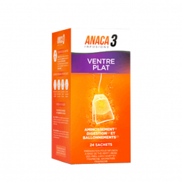 ANACA3 INFUSIONS VENTRE PLAT 24 SACHETS