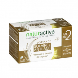 Anti Age Solaire 2x60 Capsules Doriance Naturactive