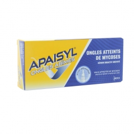 APAISYL ONGLES ABIMES ATTEINTS DE MYCOSES 4ML