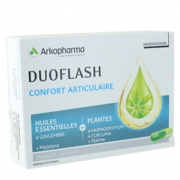 ARKOPHARMA DUOFLASH CONFORT ARTICULAIRE 20 GELULES