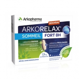 ARKORELAX SOMMEIL FORT 8H 15 COMPRIMES