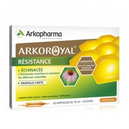 ARKOROYAL RESISTANCE 20 AMPOULES