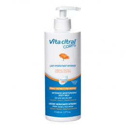 ASEPTA VITA CITRAL LAIT  CORPS HYDRATANT INTENSE PEAUX SECHES A TRES SECHES 400ML