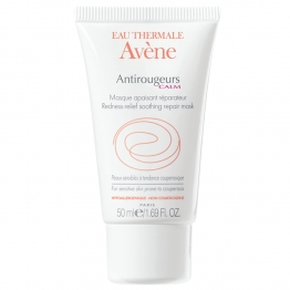 AVENE ANTIROUGEURS CALM MASQUE APAISANT REPARATEUR PEAUX SENSIBLES COUPEROSEES 50ML
