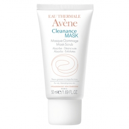 AVENE CLEANANCE MASK GOMMAGE PEAUX GRASSES A IMPERFECTIONS 50ML