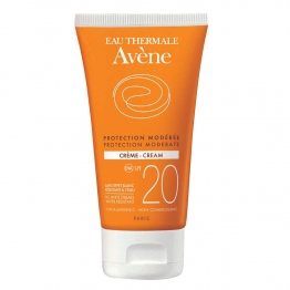 AVENE SOLAIRE CREME PROTECTION MODEREE SPF20 50ML