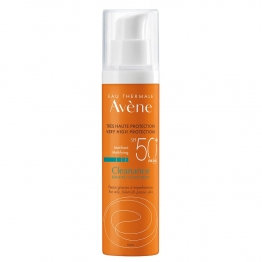 AVENE SOLAIRE CLEANANCE SPF50+ PEAUX GRASSES A IMPERFECTIONS 50ML