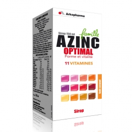 AZINC OPTIMAL FAMILLE SIROP 150ML