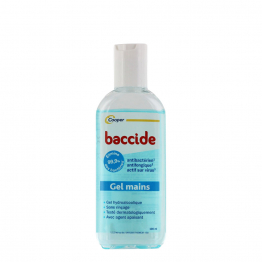 Gel Mains Sans Rincage 100ml Baccide