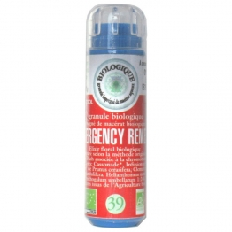 BACH BIO N°39. EMERGENCY REMEDY GRANULES 6.3G