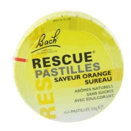 BACH RESCUE PASTILLES ORANGE-SUREAU 50G
