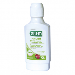 Bain De Bouche Gencives Et Dents Saines Au Quotidien Q10 300ml ActiVital Gum