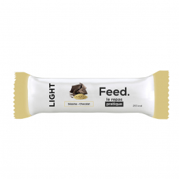 BARRE REPAS LIGHT 100G SESAME CHOCOLAT FEED