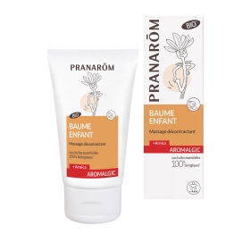 BAUME ENFANT BIO 40ML BAUME DECONTRACTANT PRANAROM