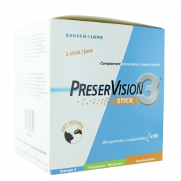 BAUSCH & LOMB PRESERVISION 3 90 STICKS