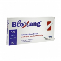 BLOXANG EPONGE HEMOSTATIQUE DERMIQUE NASALE DENTAIRE - 5 EPONGES