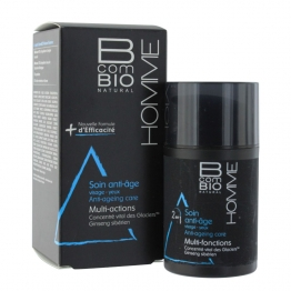 BCOMBIO HOMME SOIN ANTI-AGE MULTI-FONCTIONS BIO 50ML