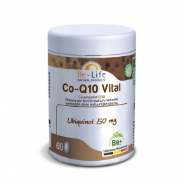 BE LIFE CO-Q10 VITAL 60 GELULES