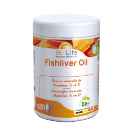 BE LIFE FISHLIVER OIL 180 CAPSULES