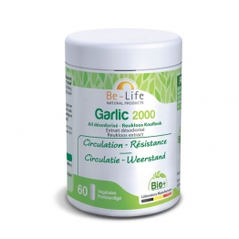 BE LIFE GARLIC 2000 BIO 60 GELULES