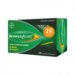 BAYER BEROCCABOOST 20 COMPRIMES EFFERVESSENTS
