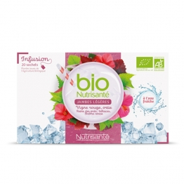 BIO NUTRISANTE INFUSION FROIDE JAMBES LEGERES 20 SACHETS