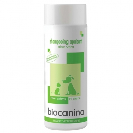 BIOCANINA SHAMPOOING APAISANT ALOE VERA CHIEN ET CHAT 200ML