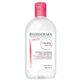 BIODERMA CREALINE T.S. H2O SOLUTION MICELLAIRE SANS PARFUM 500ML