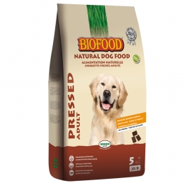 BIOFOOD ALIMENTATION NATURELLE PRESSED CROQUETTES COMPLETES PRESSEES CHIEN 5KG