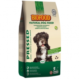 BIOFOOD ALIMENTATION NATURELLE PRESSED CROQUETTES COMPLETES PRESSEES CHIOTS 5KG