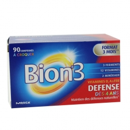 BION 3 DEFENSE JUNIOR 90 COMPRIMES