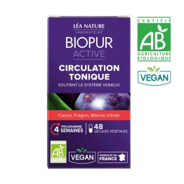 BIOPUR ACTIVE CIRCULATION TONIQUE BIO 48 GELULES