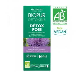 BIOPUR DETOXINE COCKTAIL DETOX FOIE 200ML